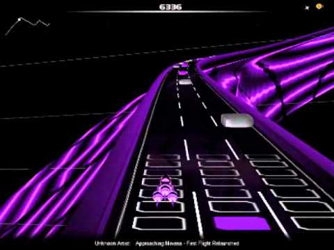 Approaching Nirvana - First Flight Relaunched (AudioSurf)