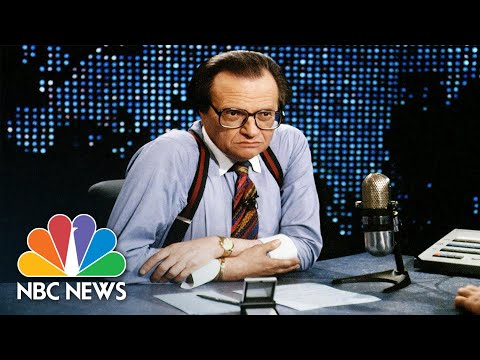 Tributes Pour In For Legendary Talk Show Host Larry King | NBC Nightly News