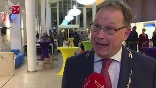 Bouman geïnstalleerd als nieuwe burgemeester