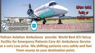 Get Advance Medical Facility Air Ambulance Service from Varanasi to Kolkata