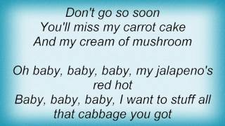 Adam Sandler - Food Innuendo Guy Lyrics