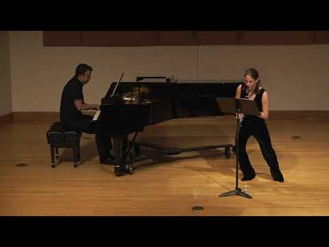 Poulenc Sonata for clarinet and piano
