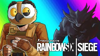 Rainbow Six Siege Funny Moments - Zombies DLC, Featuring BIG GUY!