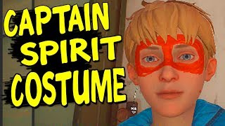 Make CAPTAIN SPIRIT COSTUME - The Awesome Adventures of Captain Spirit