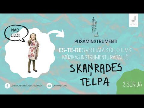 3. sērija, Esteres virtuālais ceļojums mūzikas instrumentu pasaulē SKAŅRADES TELPA – pūšaminstrumenti