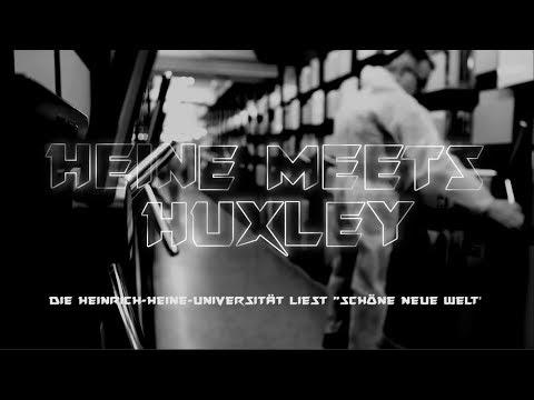 """Heine meets Huxley - Trailer """"Eine Uni Ein Buch""""- Aktion an der HHU"""