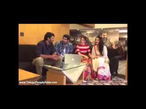 Bahubali Team Interview for Fans