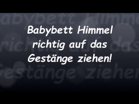 Babybett Himmel richtig befestigen! || Reborn Baby Deutsch || Little Reborn Nursery