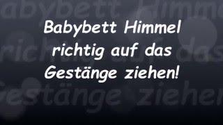 Babybett Himmel richtig befestigen!    Reborn Baby Deutsch    Little Reborn Nursery