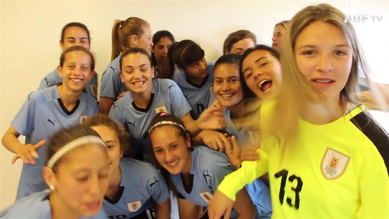 Backstage de la foto oficial para el mundial Uruguay 2018
