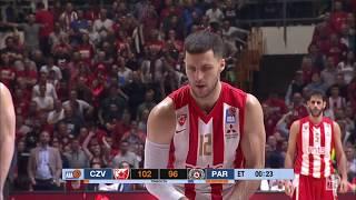 ABA Liga 2018/19 highlights, Semi-finals, Round 1: Crvena zvezda mts - Partizan NIS (23.3.2019)