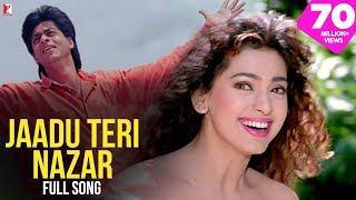 Jaadu Teri Nazar | Full Song | DARR | Shah Rukh Khan, Juhi Chawla | Udit Narayan, Shiv-Hari, Anand B