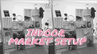 Indoor Craft Show Setup