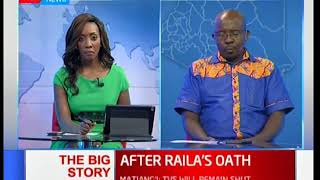 The aftermath of RT Hon Raila Odinga's swearing-in ceremony: The Big Story