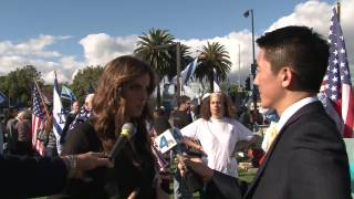 Noa Tishby with channel 4 - Los Angeles