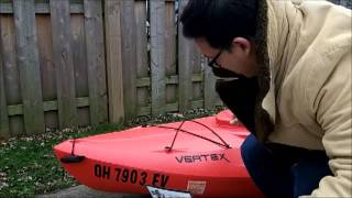 "Because I said I would - Week 8 of 52 Promises, ""I will put the registration stickers on my kayak."""