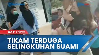 Detik-detik Istri Sah Tikam Terduga Wanita Selingkuhan Suami di Makassar, Kini Terancam 7 Tahun Bui