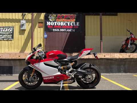 2012 Ducati 1199 Panigale S Tricolore in Auburn, Washington - Video 1