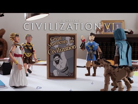 Civilization VI - Great Moments - Nintendo Switch Launch Trailer thumbnail
