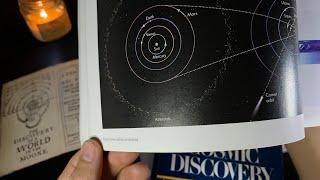 (2 Hr) New Astronomy/Space Books   (Thunderstorm) Soft-Spoken ASMR