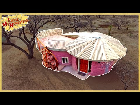 The Family Builds Shae's Earthbag Bedroom | Full Version Movie
