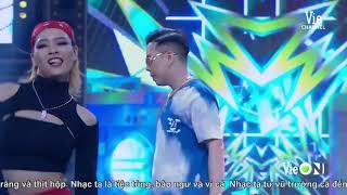 Khiến fan mê mệt, Andree Right Hand bắn rap cực sung với bản rap Nhạc Anh | RAP VIỆT