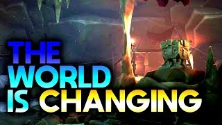 THE WORLD IS CHANGING // SEA OF THIEVES - New updates to the game #SeaOfThieves