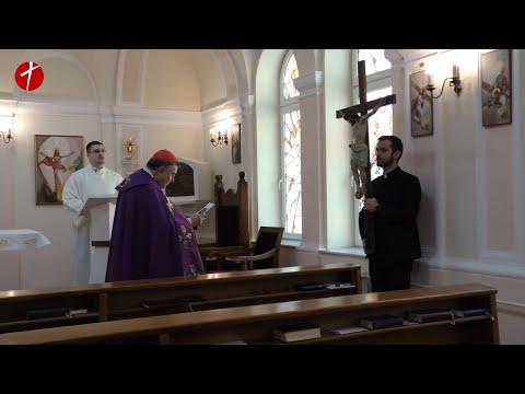 Križni put u kapelici Vrhbosanskog bogoslovnog sjemeništa