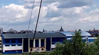 Вертолёт приземлился в центре Йошкар-Олы