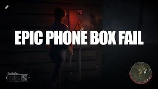 Friday the 13th - The Game - Epic Phone Box fail