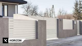 Ogrodzenia aluminiowe Arete Horizon