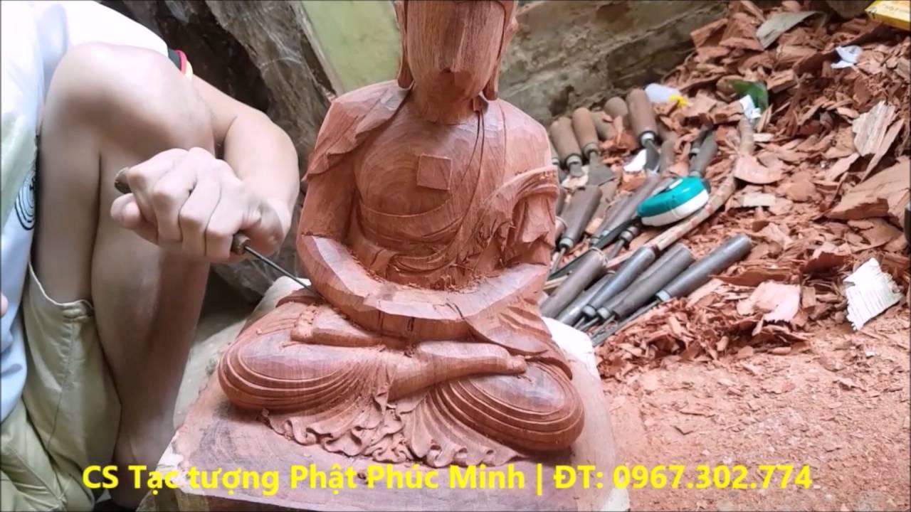 Đục bộ tượng Thất Phật Dược sư