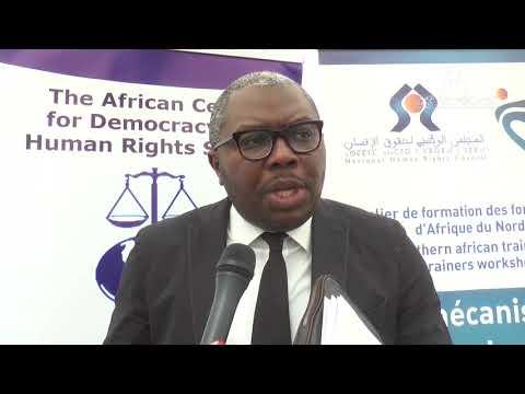 Pour une meilleure interaction des ONG d'Afrique du nord avec le système africain des DH