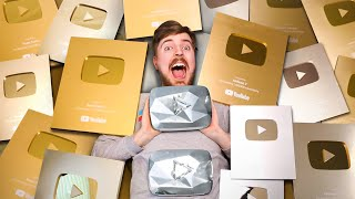 All My YouTube Play Buttons