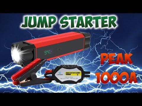 POWER BANK JUMP STARTER 1000A peak