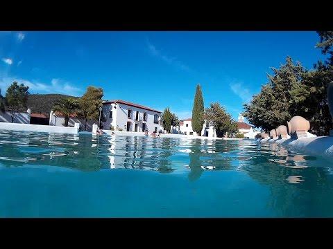 Cañaveral de León 2016. La Laguna. Una piscina natural en la Sierra de Aracena. HD.