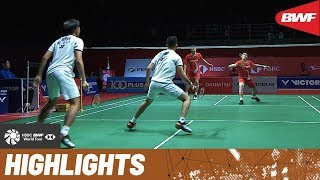 PERODUA Malaysia Masters 2020 | Semifinals MD Highlights | BWF 2020