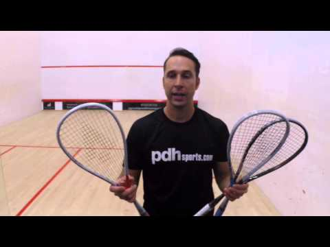 New 2014/15 superlite and ultralite Karakal squash rackets review by PDHSports.com