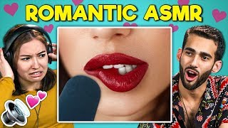 Adults React To Romantic ASMR (Boyfriend ASMR)