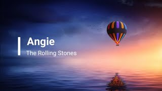 Angie - the Roliing stones ( Lyric ) Cover Live With aslan