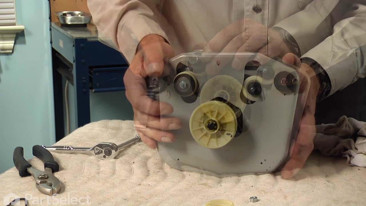 Replacing your Maytag Washer Motor with Pulley