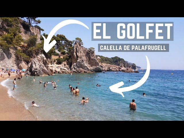 Playa Cala El Golfet, Calella de Palafrugell, Costa Brava, España