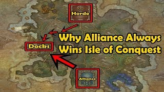 Why Does Alliance Always Win Isle of Conquest? - WCmini Fact