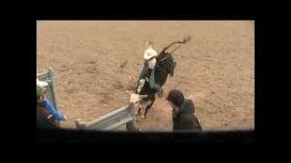 Bull Riding Made Easy.  Setting you hips.wmv