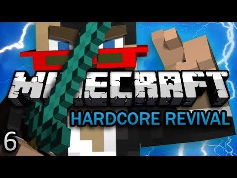 Minecraft: Hardcore Revival Ep. 6 - NETHER DANGER