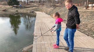 ВЛОГ Рыбалка в самоизоляции / Рыбалка на спиннинг 27.03.2020