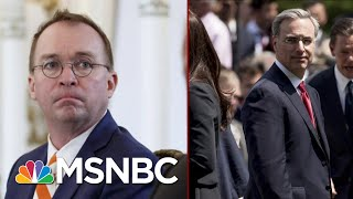 White House Infighting Ahead Of Public Testimony   Deadline   MSNBC