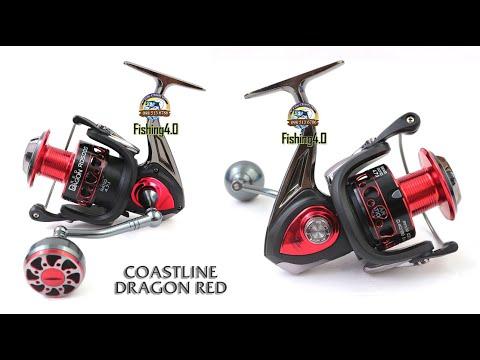 Máy câu Coastline Dragon Red - New 2021 - Ngon Bổ Rẻ