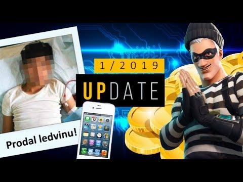 PRODAL LEDVINU, ABY MĚL IPHONE !?