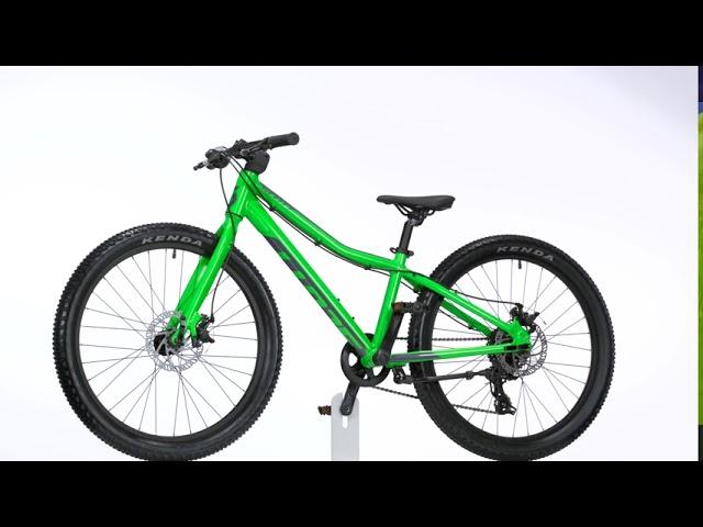 Видео Велосипед Scott Scale 24 Rigid (KH) Orange/Black